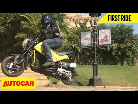 Honda Navi   First Ride   Autocar India