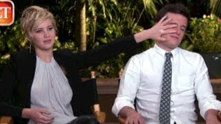 Jennifer Lawrence Funny Moments 2013