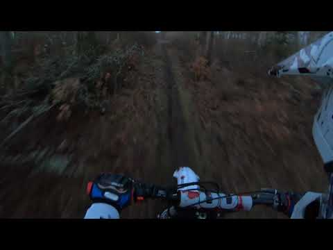 150cc riding in Sweden