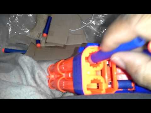 NEW Nerf Elite barrel break IX-2 review opening