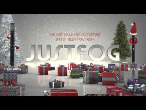 Justfog and Tee Cee Trade Europe BV wishes you a merry christmas
