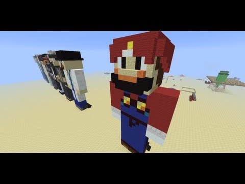 PlayerStatue MCEdit Filter -- Minecraft Tool