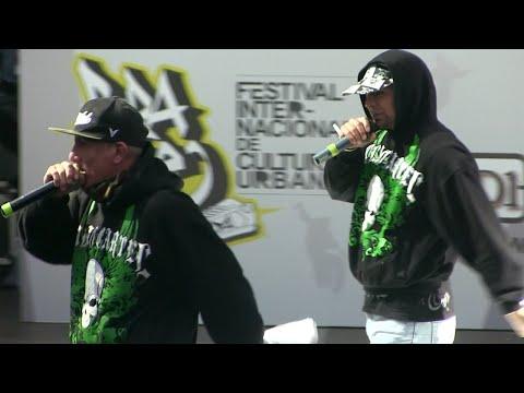 Callao Cartel 2014 En Vivo Pura Calle 2014 Kasike, Drogario Gangstyle Y Djprax video