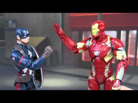 "Captain America Fights Iron Man Over ""James""! Captain America Civil War Parody"
