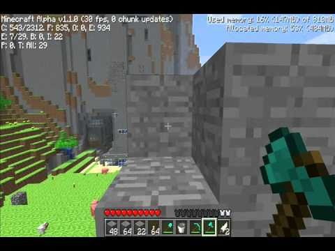 Minecraft - How To Make An Infinite Cobblestone Generator