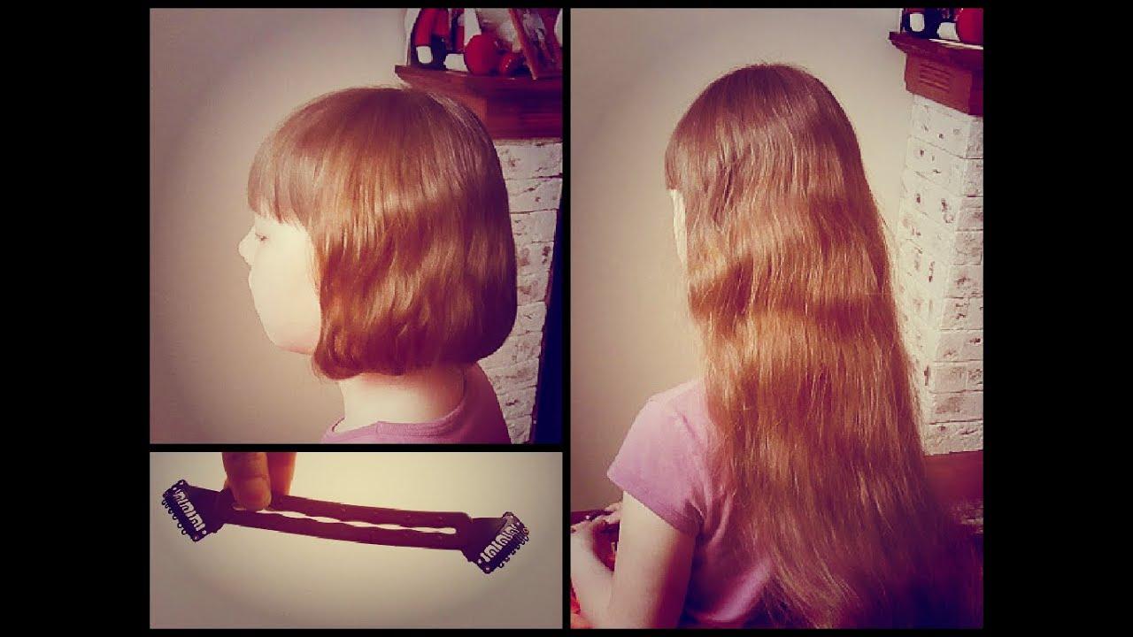 Как сделать волосы короткими не обрезая их 55