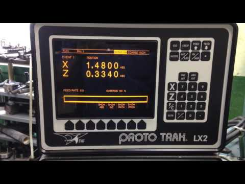 2000 TRAK TRL-1440P - CNC LATHE Video