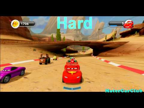 Disney Infinity Lightning McQueen Farm Race Gold Hard (PS3.Xbox 360.Wii.Wii U.3DS)