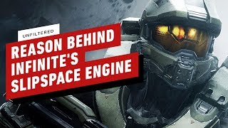 Halo Boss Reveals Reason Behind Infinite's New Slipspace Engine - IGN Unfiltered
