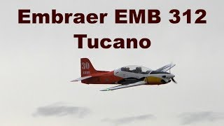 Embraer EMB 312 Tucano, scale RC aircraft, 2017