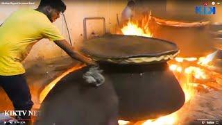 حيدر أباد لحم ضأن برياني | Hyderabadi Mutton Dum Biryani Making | Kiktv Steet Food/B6