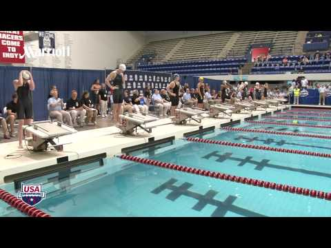Women&#039;s 100m Freestyle A Final - 2012 Indianapolis Grand Prix
