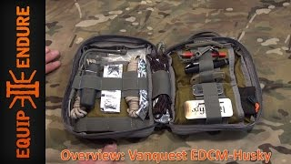 Vanquest EDCM HUSKY: EDC Maximizer™ Organizer Overview by Equip 2 Endure