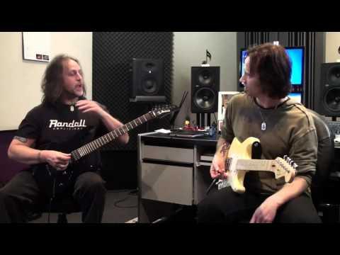 James Ryan jamming with John Sanders (aka Doug Steele) Part 1 Sweep picking