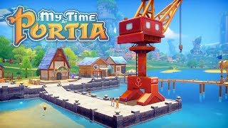 The Harbour Crane! - My Time at Portia (Full Release) – Part 74
