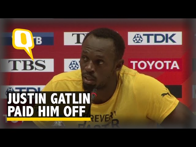 """Justin Gatlin Paid Him off,"" says Bolt After His Fall"
