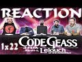 """Code Geass 1x22 REACTION!! """"Bloodstained Euphie"""""""
