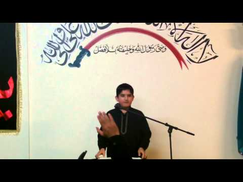 Nana Zakir Taqi Abbas - Derby Imam Bargah 03 04 14 - U.k video