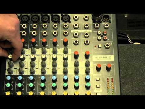 Mackie 1402 vs Soundcraft EPM6 SOUND COMPARISON