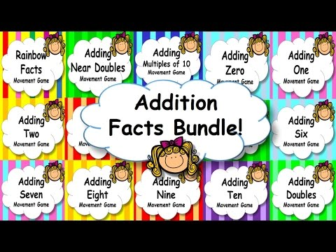 Addition Facts Mental Maths Strategies Game, Brain Break or Maths Warm Up PowerPoint