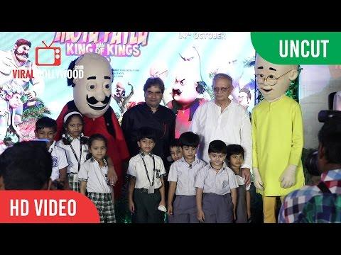 UNCUT - Motu Patlu King Of Kings Animated Movie Song Launch thumbnail