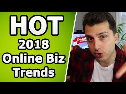 Super HOT 2018 Online Business Trends (Earn BOOKOO Money)