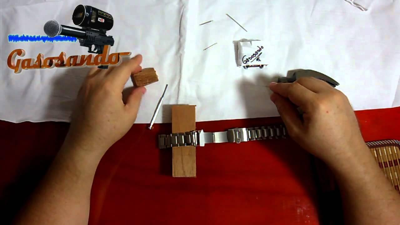 Como reparar extensible o correa de reloj youtube - Mecanismo para reloj de pared ...