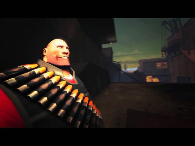 Heavy Gets Hit by Superman