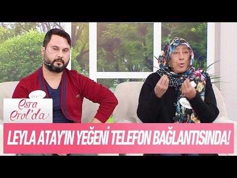 Leyla Atay'ın yeğeni telefon bağlantısında - Esra Erol'da 23 Kasım 2017