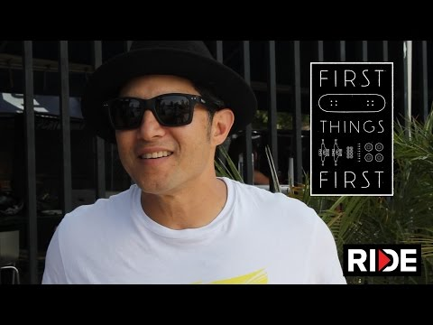 Christian Hosoi's First Skateboard - First Things First