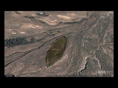 EL ARCA DE NOE EN LAS FALDAS DEL MONTE ARARAT, GOOGLE EARTH