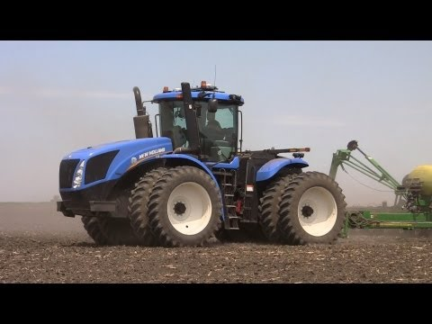 Galusha Farm -  New Holland T9.390 Tractor on 5-16-2013
