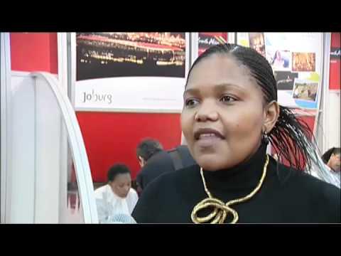 Lumka Dlomo, Marketing Manager, Johannesburg Tourism Company (JTC) SA @ WTM 2010