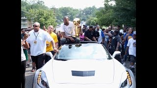 Kevin Durant Honored in his Hometown