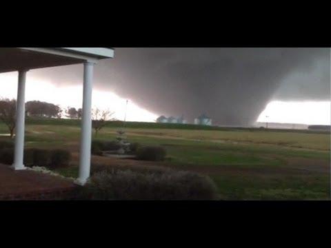 Huge tornado Noxubee County Mississippi