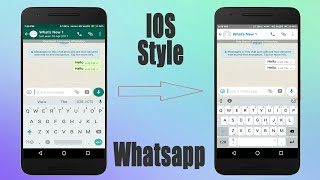 download lagu Ios Apple Whatsapp Style On Any Android 2018 gratis
