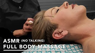 ASMR (No Talking) Full Body Swedish Massage