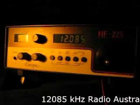 Pacific Shortwave DX - Australia & New Zealand received in Germany on Lowe HF-225 Europa