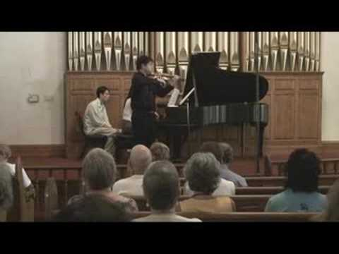 Ken Hamao plays Faure Violin Sonata No.1 (1)