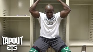 "Apollo Crews gets competition ready: ""Pre-Match Moments,"" powered by Tapout"