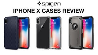 Spigen iPhone X Cases Review [4K]