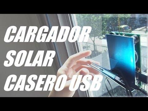 Como hacer un Cargador Solar Casero USB