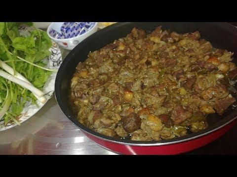 حلويات المدبح (معلاق الخروف ) فطار اول يوم عيد الاضحى المبارك
