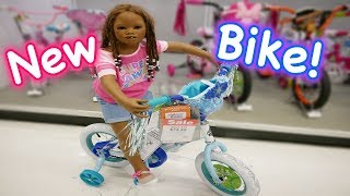 Silicone Baby Big Sister New Kid Bike Hunt in Toys R Us Huge Toy Store!