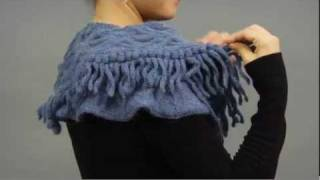 #26 Medallion Scarf, Vogue Knitting Holiday 2009