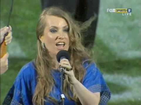 Julia Messenger - Anzac - Australian National Anthem