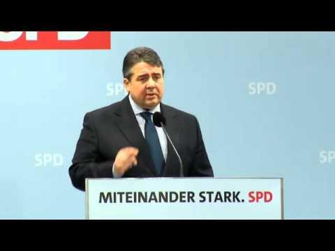Politischer Aschermittwoch - Rede von Sigmar Gabriel