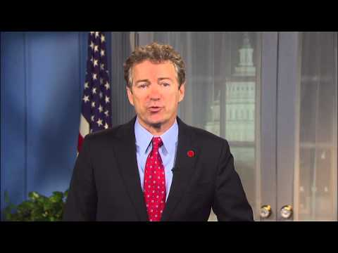 Sen. Paul's State of the Union Response- January 20, 2015