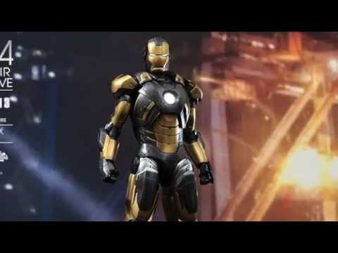 Iron Man 3 Hot Toys Mark XX Python 1/6 Scale Toy Fair 2014 Exclusive Revealed!