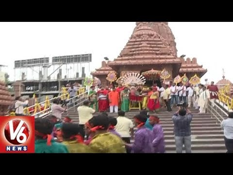 Devotees Throng To Puri Jagannath Rath Yatra Festival In Hyderabad | V6 News